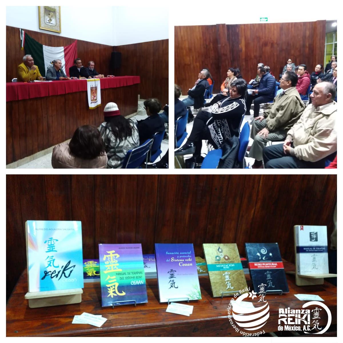 Presentación de la serie completa de libros del Sistema Reiki CEAAN